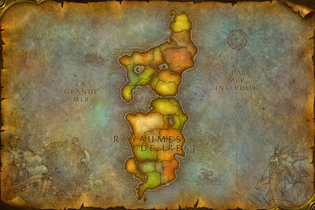 le royaume de l 39 est continent o r sident les humains nains ange elfe et gnome. Black Bedroom Furniture Sets. Home Design Ideas